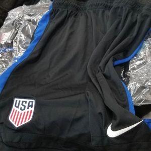 Bnwt !!! Nike team USA soccer shorts